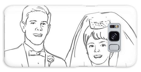 Perfect Wedding Galaxy Case