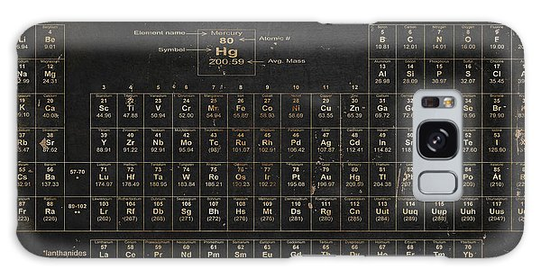 The Galaxy Case - Periodic Table Of The Elements by Grace Pullen