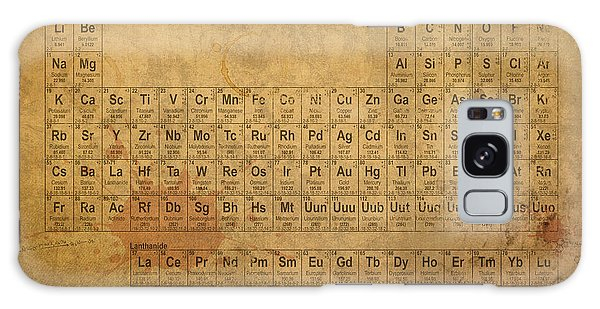 Table Galaxy Case - Periodic Table Of The Elements by Design Turnpike