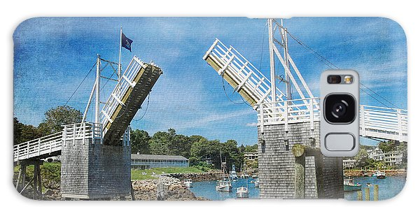 Perkins Cove Drawbridge Textured Galaxy Case