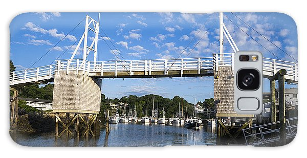 Perkins Cove - Maine Galaxy Case by Steven Ralser