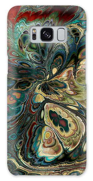 Perlin Party Galaxy Case by Kim Redd