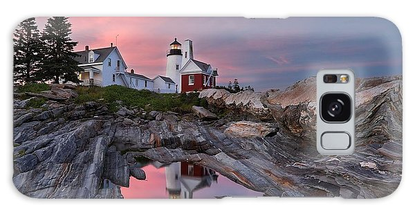 Permaquid Lighthouse Galaxy Case
