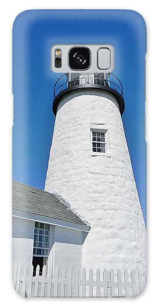 Pemaquid Lighthouse Galaxy Case