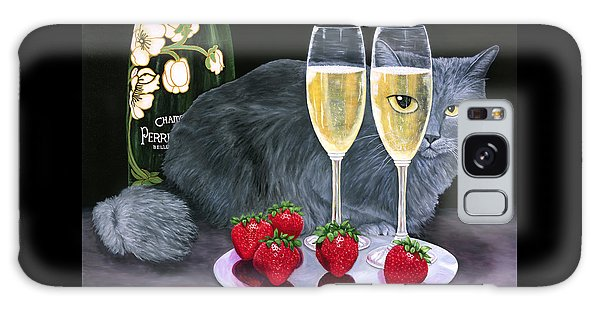 Perrier Jouet Et Le Chat Galaxy Case