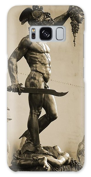 Perseus With The Head Of Medusa Galaxy Case