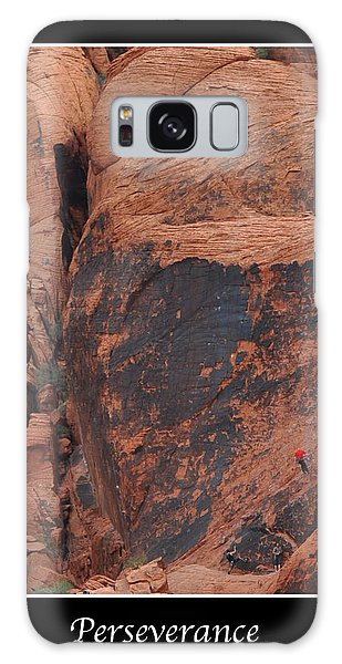 Perseverance Galaxy Case by Kirt Tisdale
