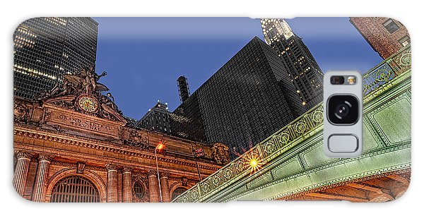 Galaxy Case featuring the photograph Pershing Square by Susan Candelario