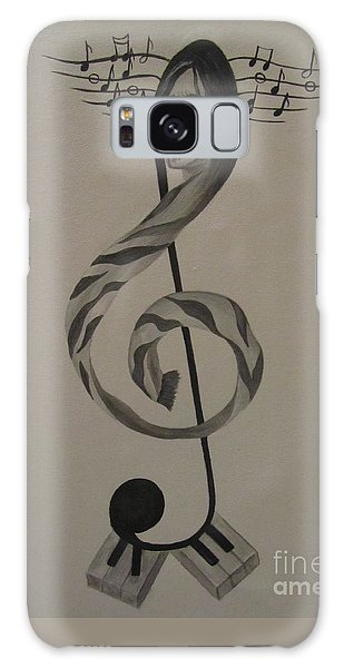 Personification Of Music Galaxy Case