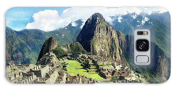 Llama Galaxy S8 Case - Peru, Machu Picchu, The Lost City by Miva Stock