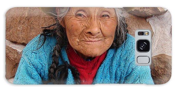 Peruvian Beauty Galaxy Case by Ramona Johnston