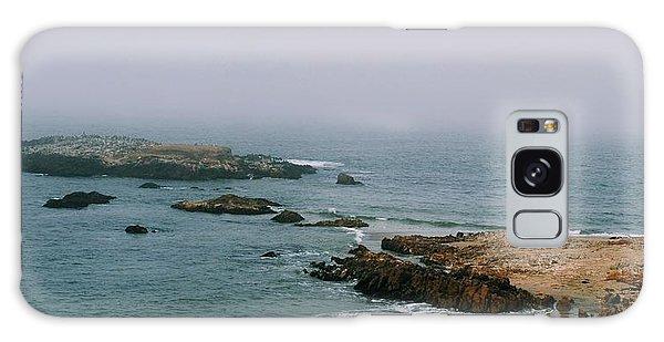 Pescadero Beach Galaxy Case