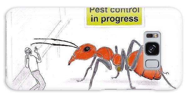 Pest Control Galaxy Case