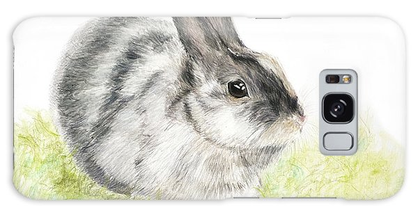 Pet Rabbit Gray Pastel Galaxy Case