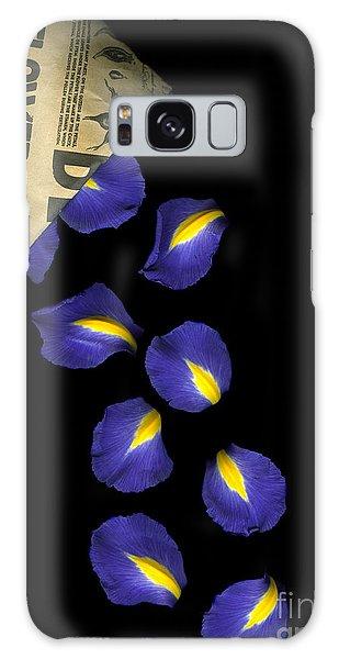 Mixed-media Galaxy Case - Petal Chips by Christian Slanec