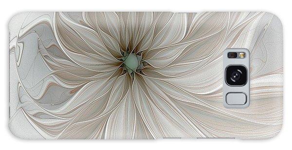 Petal Soft White Galaxy Case