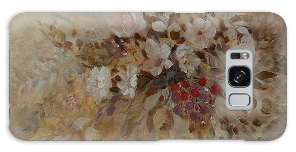 Petals And Berries Galaxy Case by Joanne Smoley