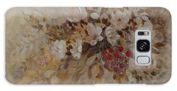 Petals And Berries Galaxy Case