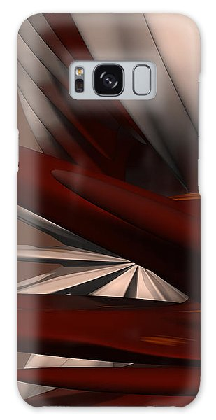 Petals And Stone 2 Galaxy Case by Judi Suni Hall