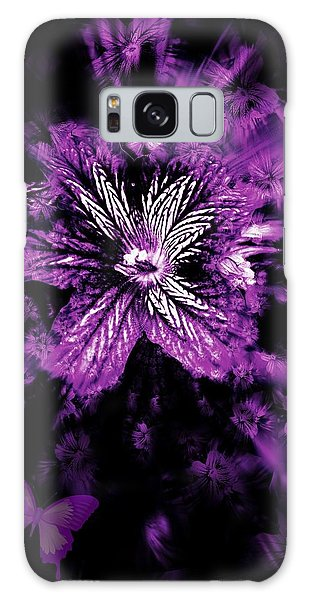 Petals From The Purple Galaxy Case