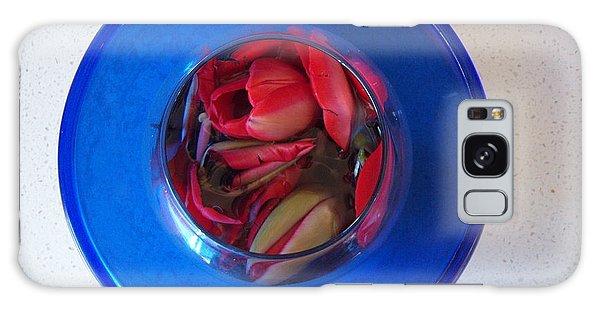 Petals In Vase In Vase Galaxy Case