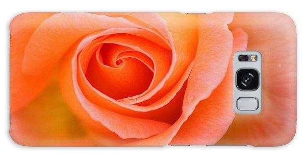Petals Of Peach Galaxy Case by Rowana Ray