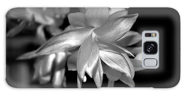 Petals Of Silver Galaxy Case