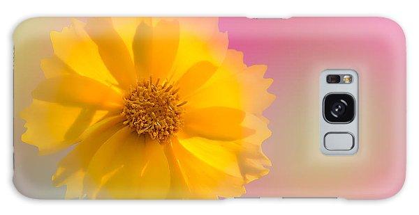 Petals Of Sunshine Galaxy Case