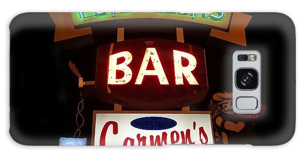 Pete And Elda's Bar Galaxy Case by Melinda Saminski