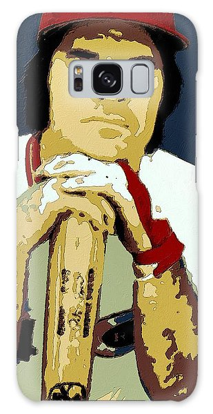Pete Rose Poster Art Galaxy Case