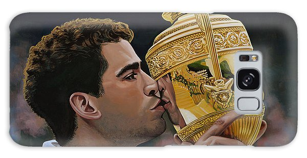 Sportsman Galaxy Case - Pete Sampras by Paul Meijering