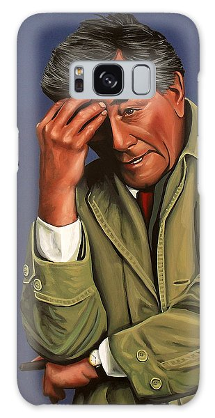 Peter Falk As Columbo Galaxy Case by Paul Meijering