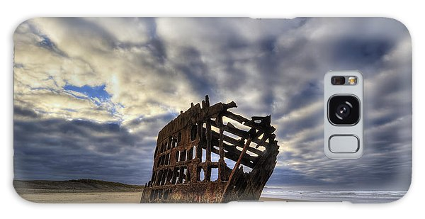 Peter Iredale Galaxy Case - Peter Iredale Shipwreck Sunrise by Mark Kiver