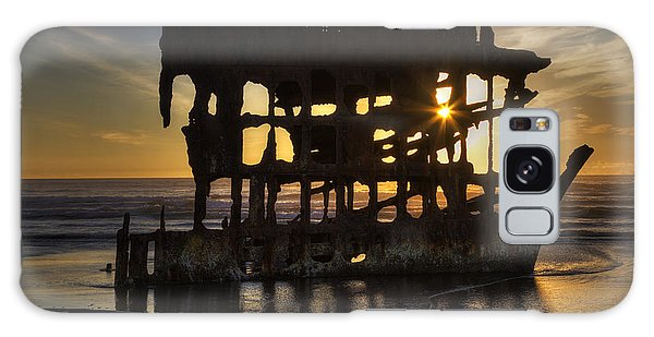Peter Iredale Galaxy Case - Peter Iredale Shipwreck Sunset by Mark Kiver