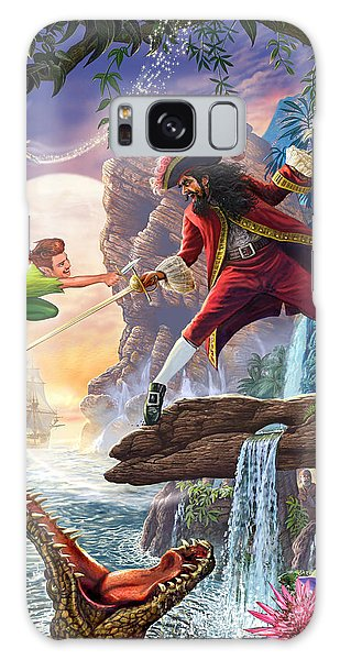 Peter Pan And Captain Hook Galaxy S8 Case