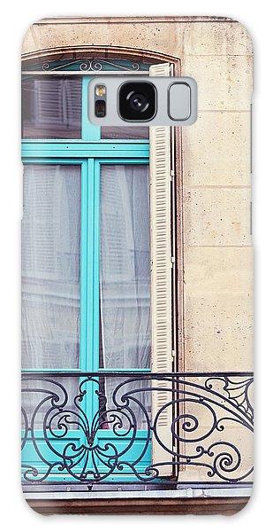 Window Galaxy Case - Petit - Parisian Balcony  by Melanie Alexandra Price