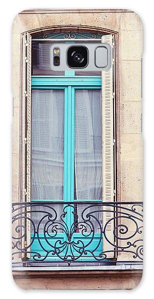 Petit - Parisian Balcony  Galaxy Case