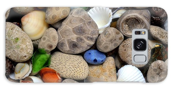 Petoskey Stones Lll Galaxy Case
