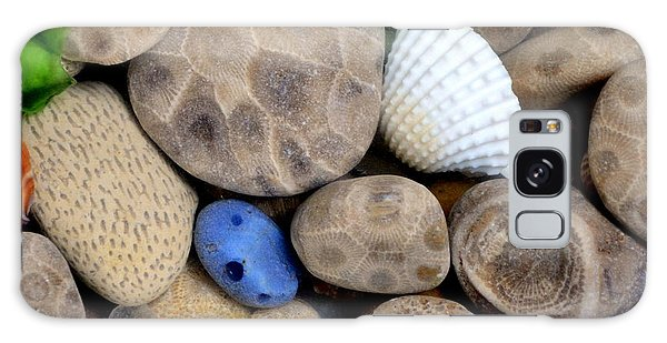 Petoskey Stones V Galaxy Case