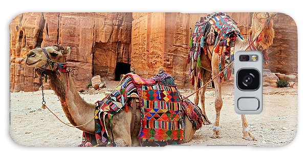World Religion Galaxy Case - Petra Camels by Stephen Stookey