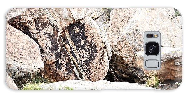 Petroglyph Galaxy Case by Cheryl McClure