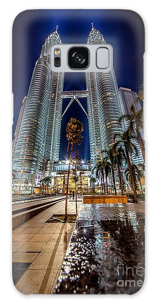 Petronas Twin Towers Galaxy Case by Adrian Evans