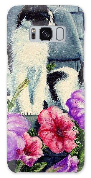 Petunia Kittens Galaxy Case