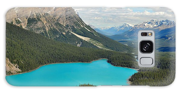 Peyto Lake Galaxy Case by Lisa Phillips
