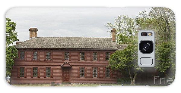 Royal Colony Galaxy Case - Peyton Randolph House by Teresa Mucha