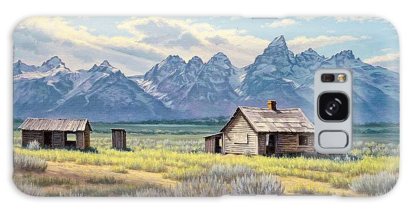Teton Galaxy Case - Pfeiffer Homestead-tetons by Paul Krapf