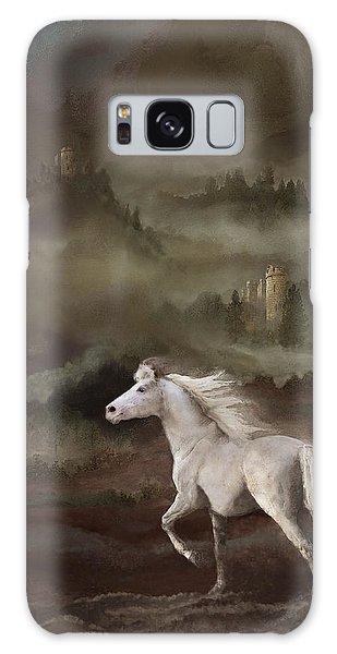 Storybook Stallion Galaxy Case by Melinda Hughes-Berland