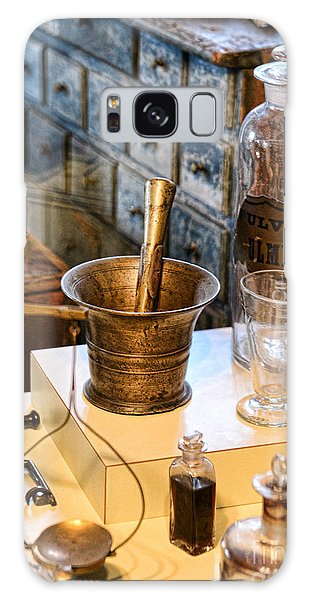 Pharmacist - Brass Mortar And Pestle Galaxy Case