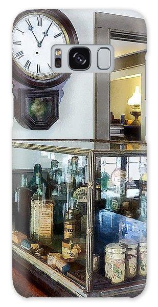 Pharmacist - Corner Drug Store Galaxy Case by Susan Savad