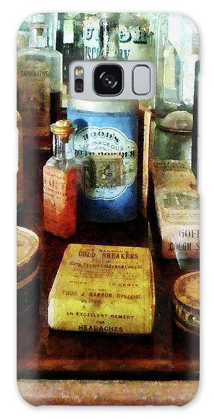 Pharmacy - Cough Remedies And Tooth Powder Galaxy Case